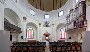 Interior of Blenduk Church, Semarang, 2014-06-19 2