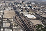Interstate 15 and the Las Vegas Strip, Las Vegas, Nevada.jpg