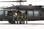 Into The Blue, Dog Company, Hussar Battalion jump together 150912-A-FJ979-004.jpg