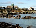 Iona Abbey across St. Ronan's Bay - geograph.org.uk - 699962.jpg