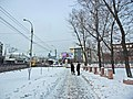 Irkutsk. February 2013. Cinema Barguzin, regional court, bus stop Volga, Diagnostic Center. - panoramio (13).jpg