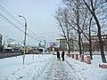 Irkutsk. February 2013. Cinema Barguzin, regional court, bus stop Volga, Diagnostic Center. - panoramio (13).jpg