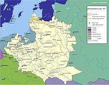 Das Königreich Polen 1701 (Quelle: Wikimedia)