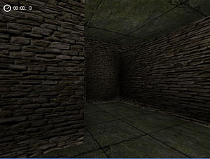 Irrlicht Engine - Lightmaps and vertex lighting in Irrlicht, rendering a simple dungeon scene