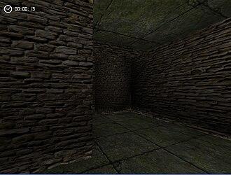 Irrlicht Engine - Lightmaps and vertex lighting in Irrlicht, rendering a simple dungeon scene