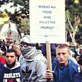 Islamic Protest in Hyde Park, Sydney 01.JPG