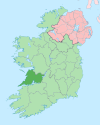 Island of Ireland location map Clare.svg