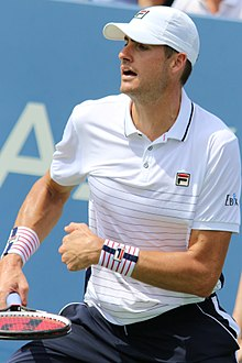 John Isner - the cool, hot,  tennis player  with German, Irish, English,  roots in 2020