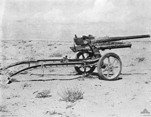 Maletti Group - Image: Italian 47mm anti tank gun 1941 AWM 044455