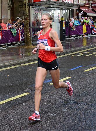 Kyrgyzstan at the 2012 Summer Olympics - Iuliia Andreeva finished sixtieth in women's marathon.