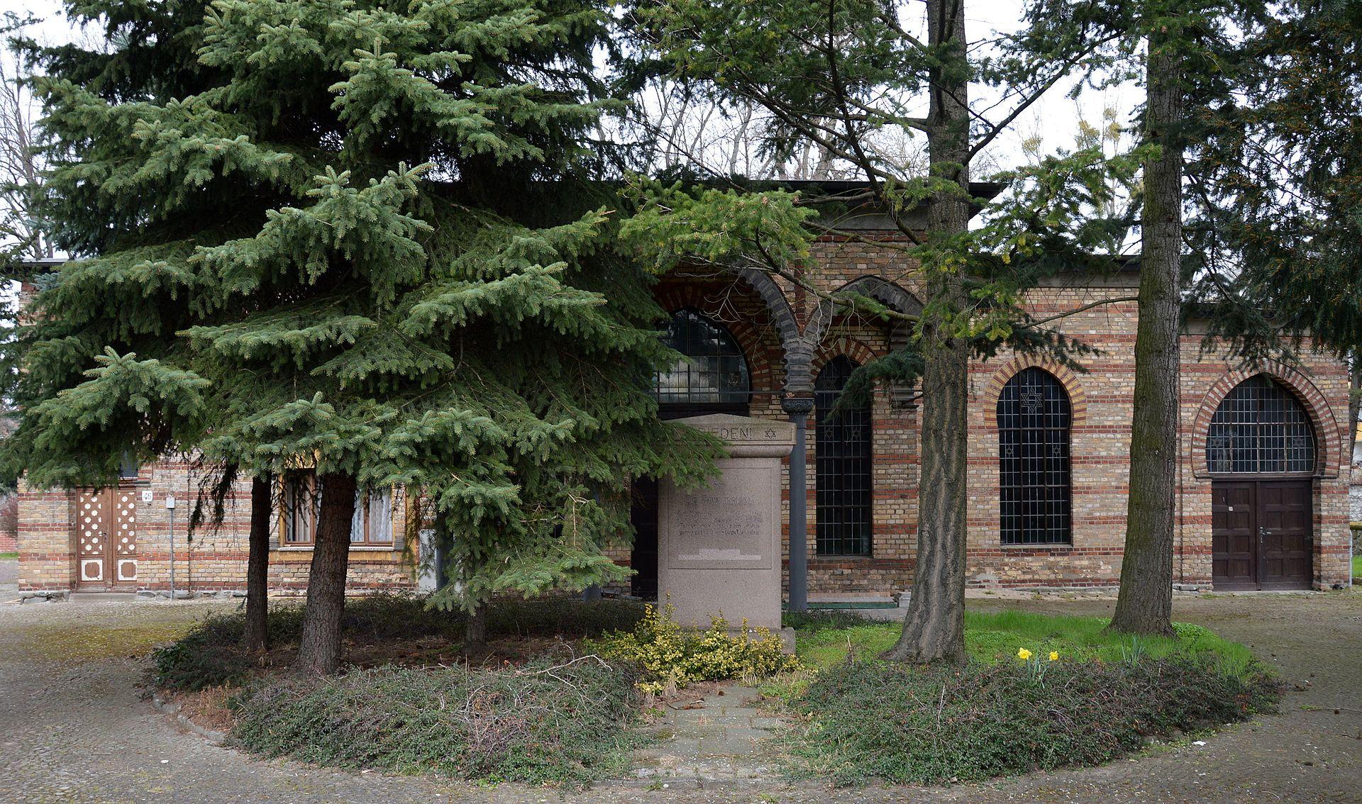 Jüdischer Friedhof Magdeburg Blick auf den Friedhof.jpg