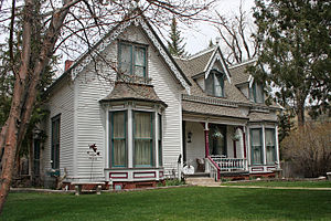 National Register of Historic Places listings in Chaffee County, Colorado - Image: J.M. Bonney House