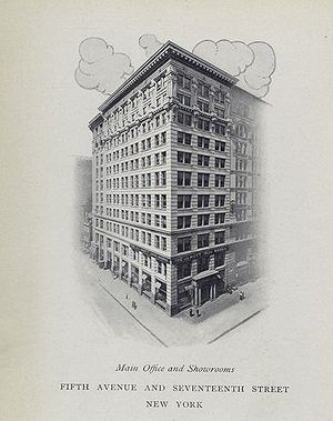 J. L. Mott Iron Works - Image: JL Mott Main Office cropped