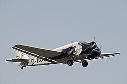 Ju 52/3m der Lufthansa (D-AQUI)