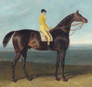 Jack Spigot - Jack Spigot as painted by John Frederick Herring Sr., 1821.