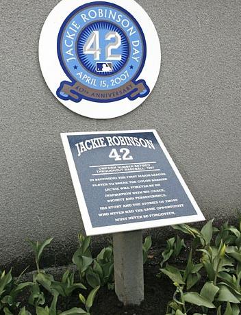 Jackie Robinson Retired
