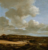 Jacob van Ruisdael - Landscape with Cornfield.jpg