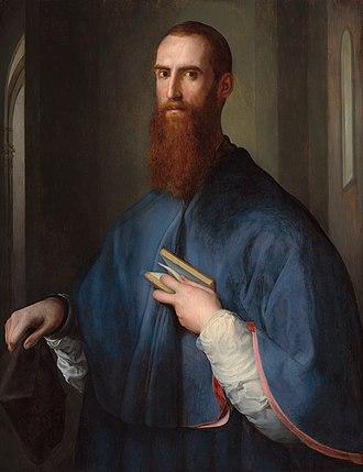 Giovanni della Casa - Portrait of Giovanni della Casa by Jacopo Pontormo