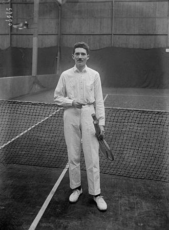 Jacques Brugnon - Image: Jacques Brugnon 1920