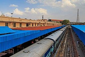 Jaipur Junction railway station - Image: Jaipur 03 2016 30 Jaipur railway station