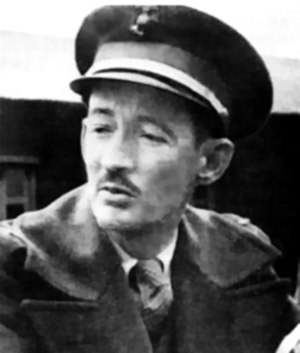 James Devereux - Maj Devereux, as POW in Shanghai, c. 1942.