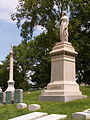 James H. Laughlin Monument, Allegheny Cemetery, Pittsburgh, 1.jpg