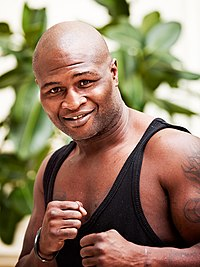 James Toney en octobre 2011.