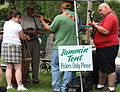 Jammin' Tent - Picker Only Please - A little friendly pickin' and grinnin' - Shindig on the Green 2008 (2008-08-10 16.00.01 by Frank Kovalchek).jpg