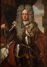 Elector Johann Wilhelm von der Pfalz, oil on canvas (Jan Frans van Douven)