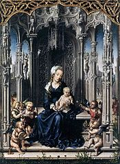 Virgin and Child with Musical Angels