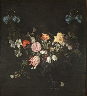 Jan Philip van Thielen - Garland of flowers