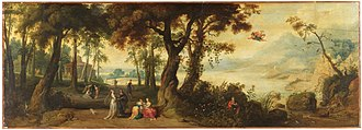 Jan Wildens - Landscape with Mercury and Herse