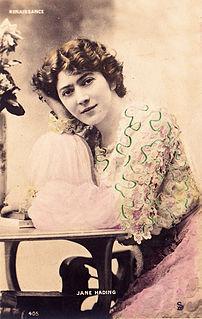 Jane Hading French actress