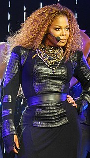 Janet Jackson American singer, songwriter, actress, and dancer.