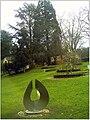 January Frost Botanic Garden Freiburg Redwood - Master Botany Photography 2014 - panoramio.jpg