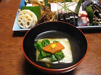 Zōni - zōni and osechi