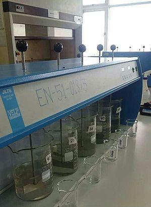 Coagulation (water treatment) - Jar test for coagulation
