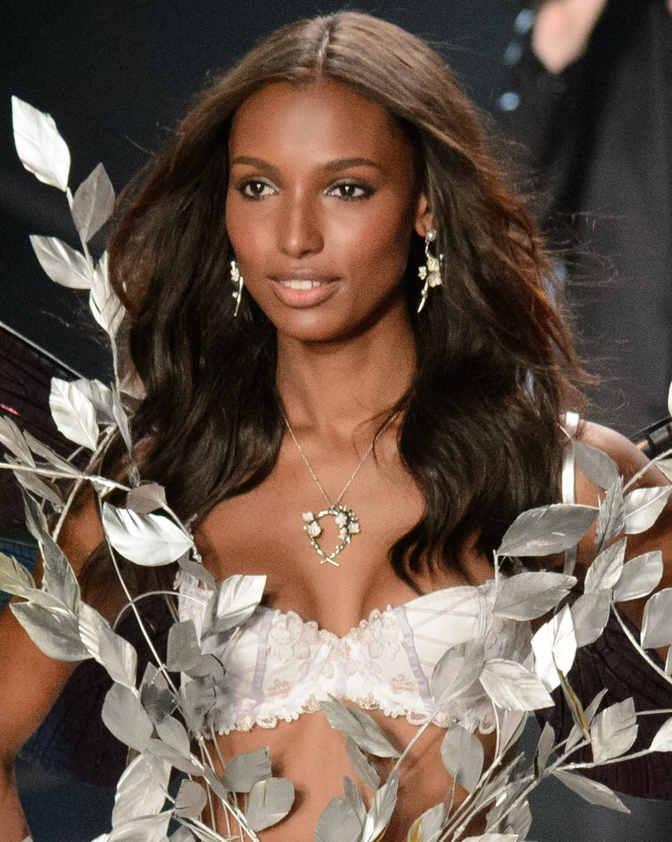 28f132d9a3f Jasmine Tookes at the 2014 Victoria s Secret Fashion Show (cropped)