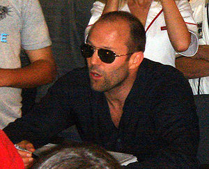 Jason Statham at the 2006 San Diego Comic-Con ...