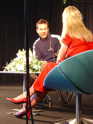 Jason Watt - Jason Watt in 2004 being interviewed by Annette Heick.