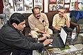 Jayanta Nath Showing Wikimedia Activities To Subrata Kundu In The Presence Of Subodh Kulkarni - Kolkata 2020-02-15 3258.JPG