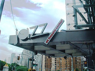 Jazz at Lincoln Center - Image: Jazz at Lincoln Center sign