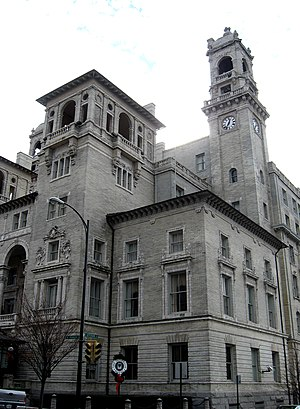 Jefferson Hotel (Richmond, Virginia) - The historic Jefferson Hotel in downtown Richmond