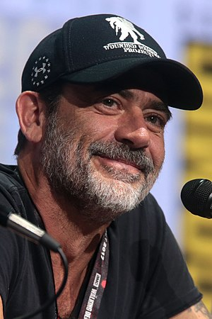 Jeffrey Dean Morgan - Morgan at the San Diego Comic-Con International in 2017