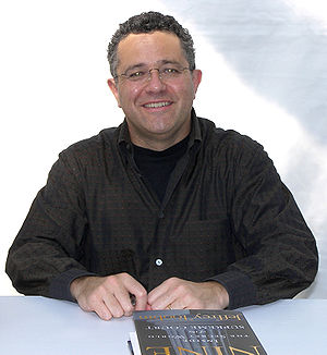 Jeffrey Toobin - Toobin promoting his book The Nine: Inside the Secret World of the Supreme Court at the 2007 Texas Book Festival.