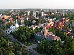 Jelgavas centrālā daļa