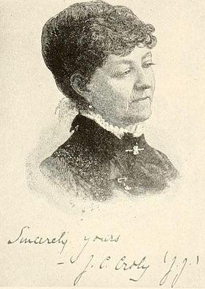 Jane Cunningham Croly - Croly, circa 1897