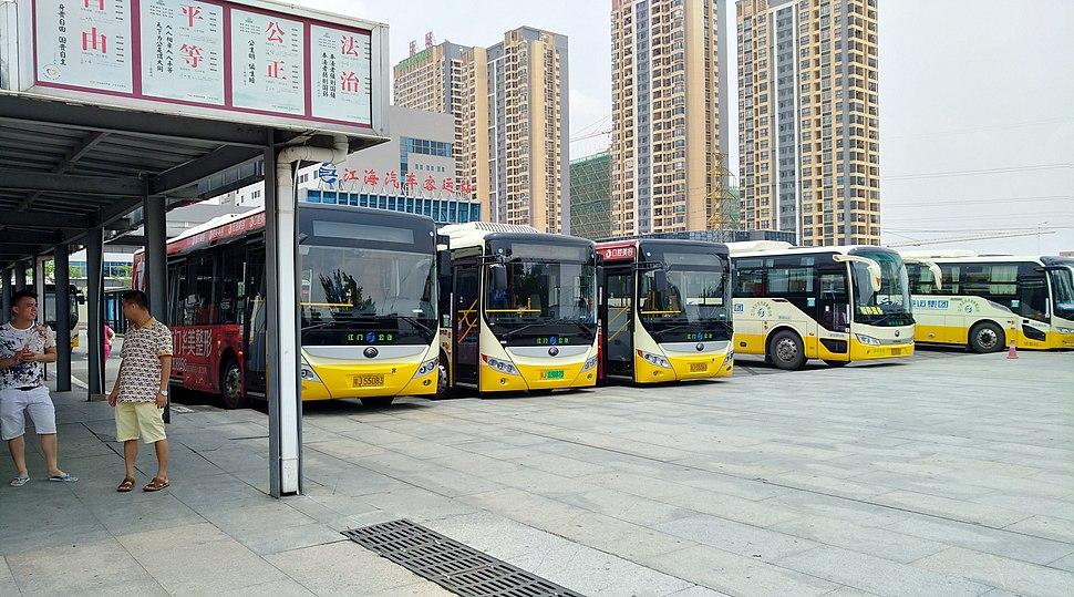 Jiangmendong Intercity Railway Station Bus Terminal