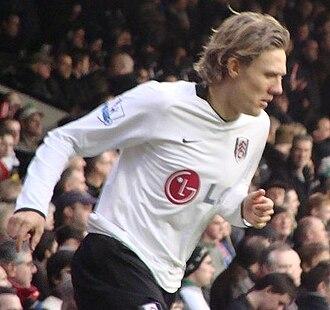 Jimmy Bullard - Bullard with Fulham in November 2008