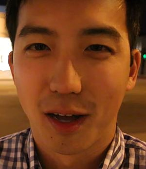 Jimmy Wong - Wong appearing in a Vlogbrothers video in 2016.